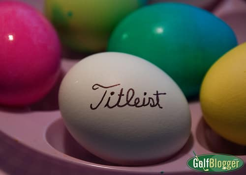 A Titleist Easter Egg