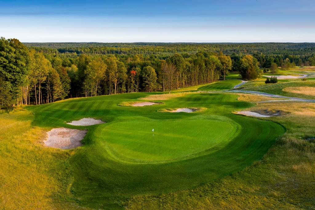 Sage Run, the newest course at Island Resort and Casino in Michigan's Upper Peninsula.