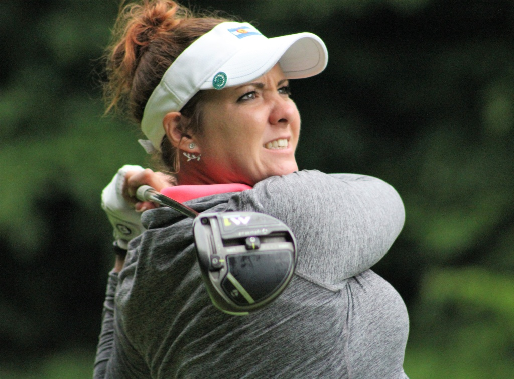 Miller, Harford Lead Michigan Women's Open After One