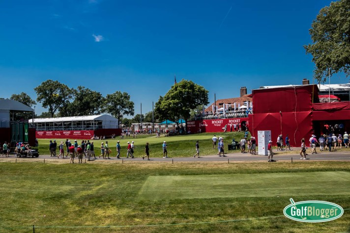 A Fan's View Of The Rocket Mortgage Classic At Detroit Golf Club