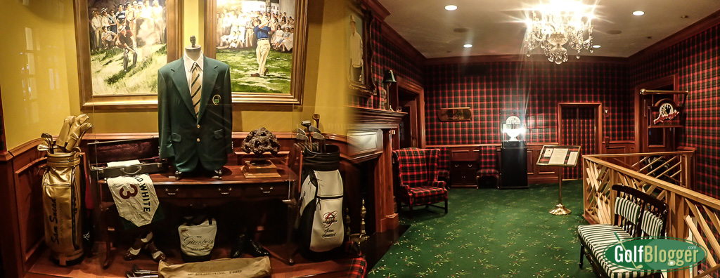 Snead Memorabilia at the Greenbrier from GolfBlogger's Greenbrier Old White TPC Review
