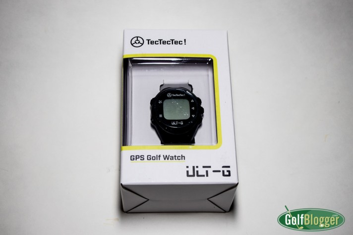 TecTecTec! ULT-G GPS Golf Watch ULT-G