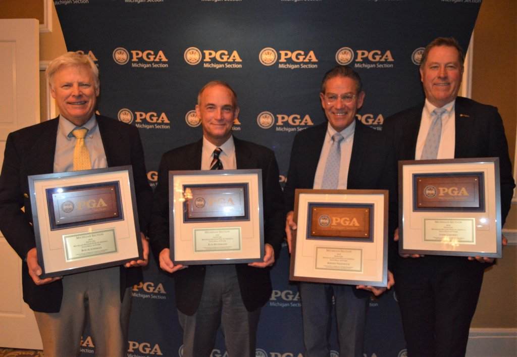Five New Members Inducted Into The Michigan PGA Hall of Fame