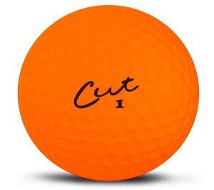 Cut Golf Balls
