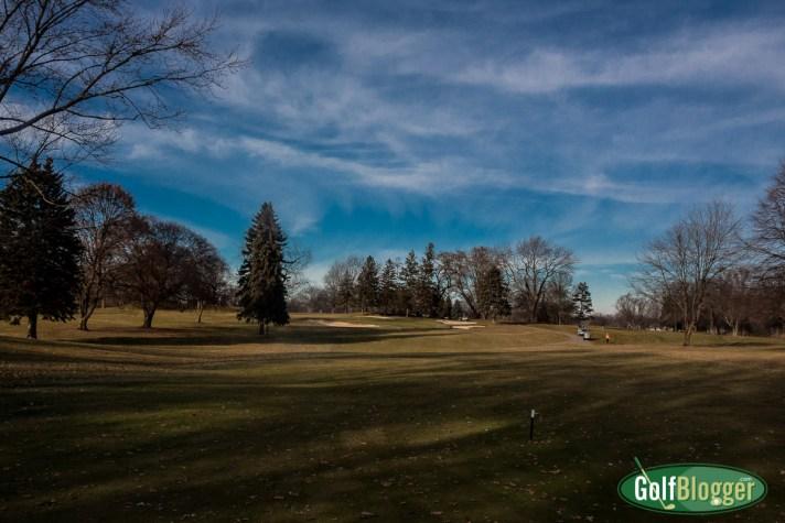 Stealing A Round On December 23. Michigan Golf