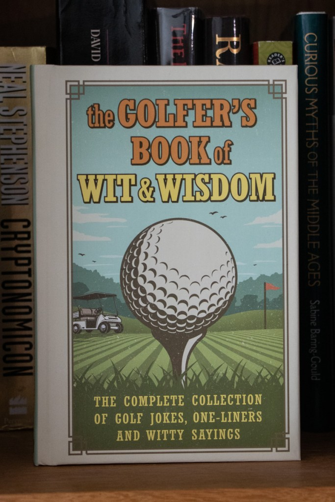 Golfer's Book Of Wit & Wisdom Book Review
