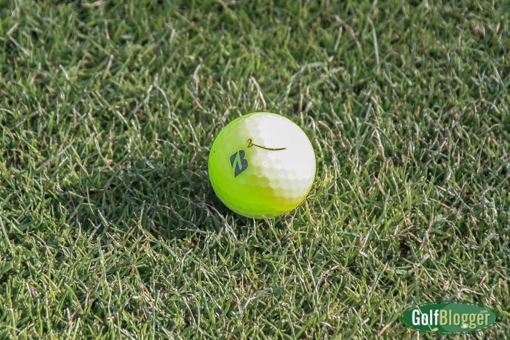 Testing Bridgestone RX Golf Balls