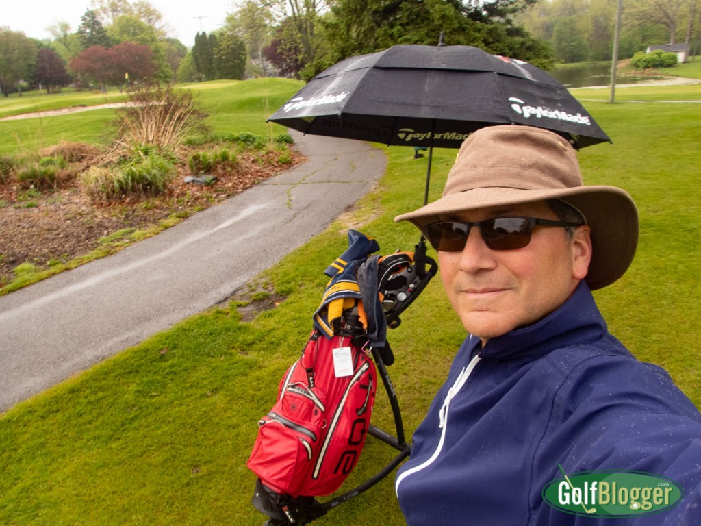 A Rainy Round At Washtenaw Golf Club