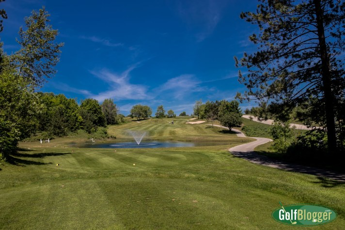Chestnut Valley Golf Course Review the twelfth hole