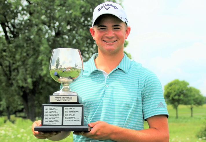 Maybank Wins Michigan Junior State Amateur