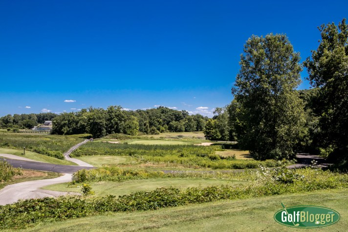 Island Hills Golf Course Review the par three seventeenth