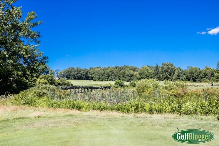Island Hills Golf Course Review the par five eighteenth