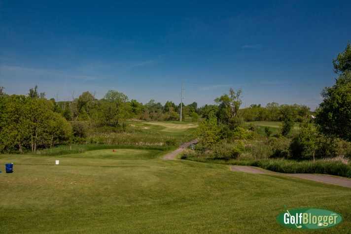 The Links At Hunters Ridge Golf Course Review seventeenth hole