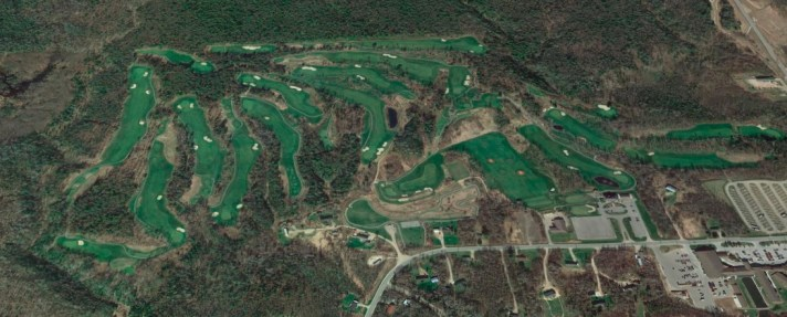 Wild Bluff Golf Course Review Aerial shot