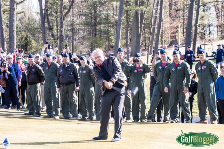 American Dunes Opens; Nicklaus Hits First Shot