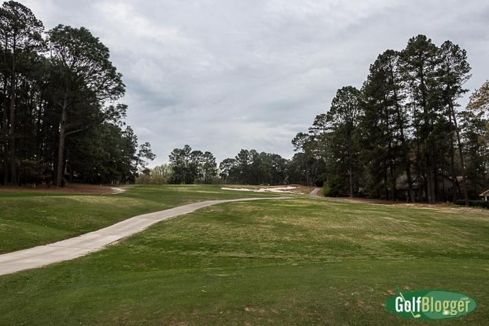 Pinehurst No. 3 Review third hole