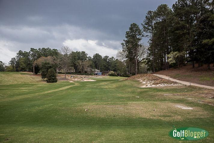 Pinehurst No. 3 Review Sixth hole