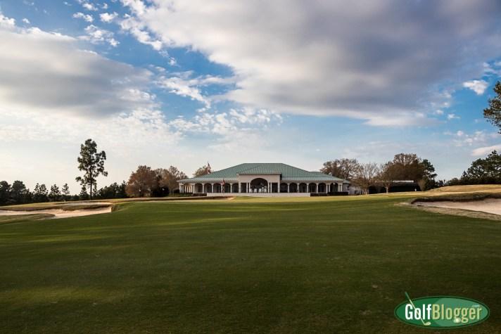 Pinehurst No. 8 Review 18th green