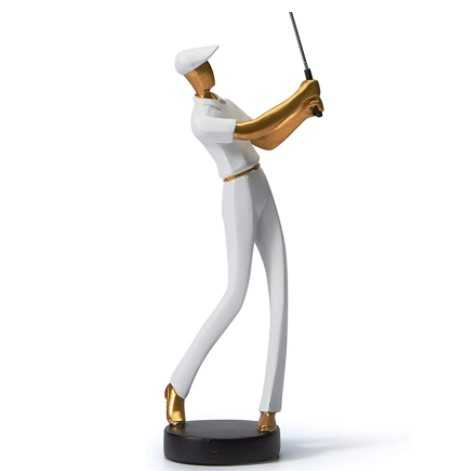 Decorative Golfer Statue