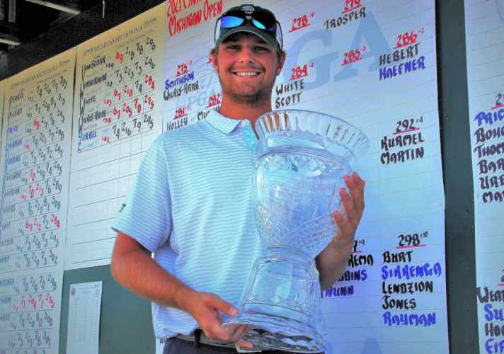 Smithson Goes Wire To Wire To Win 2021 Michigan Open photo of Smithson