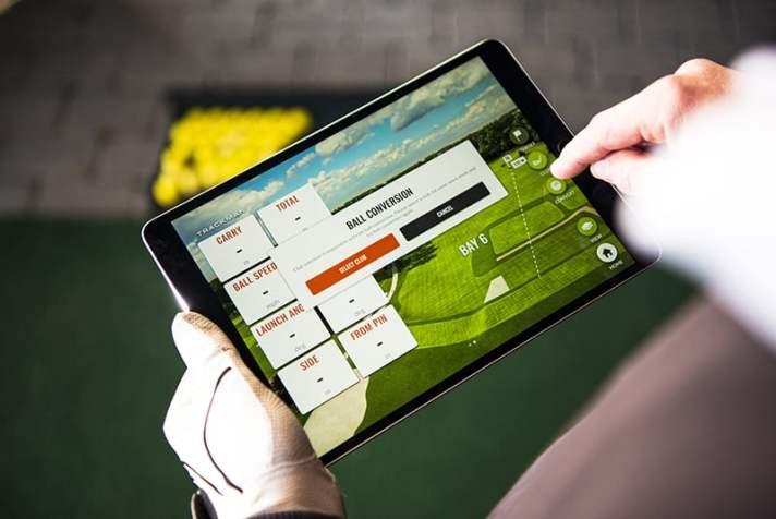 Trackman Comes To Boyne Golf In Northern Michigan - Ipad data
