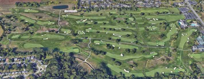 The Solheim Cup Will Showcase Classic Inverness Club An aerial view of Inverness