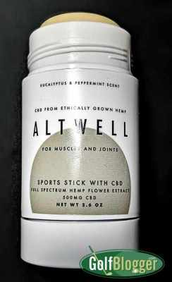 Altwell Sports Stick With CBD Review Pictured Altwell Sports Stick
