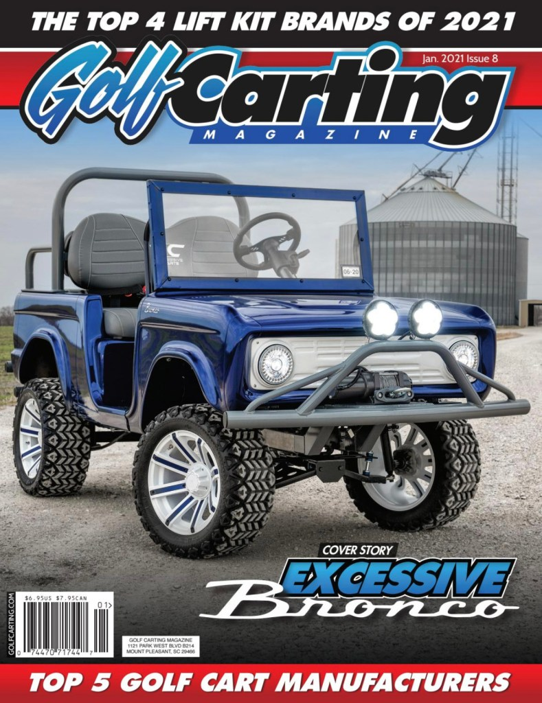 Golf Carting Magazine January 2012