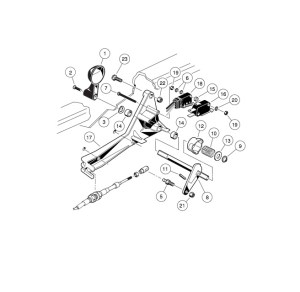 FORWARDREVERSE SHIFTER ASSEMBLY  GAS VEHICLE  Club Car parts & accessories