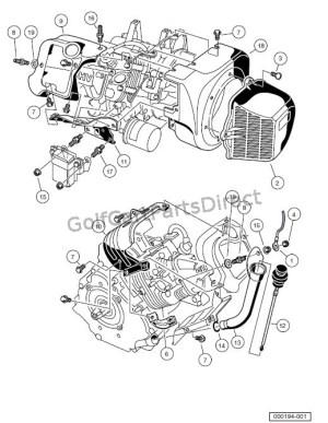 ENGINE  FE290 ENGINE SHROUDS AND BRACKETS