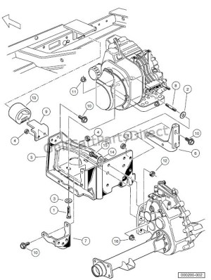 ENGINE  ENGINE MOUNTING – TURFCARRYALL 252 AND 2 XRT