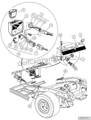 Ezgo Battery Wiring Diagram 36 Volt 2005 | Wiring Diagram