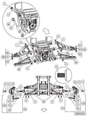 2008 Club Car XRT 1550 or Carryall 295  Club Car parts