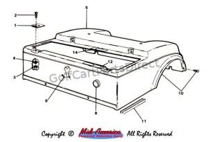 19841991 Club Car DS Electric  GolfCartPartsDirect