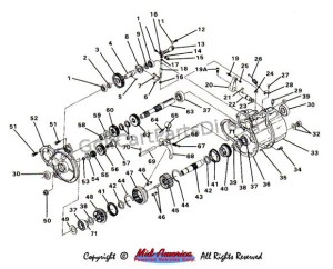 Transmission Assembly  Club Car parts & accessories