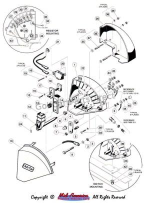 1997 Club Car Gas DS or Electric  GolfCartPartsDirect