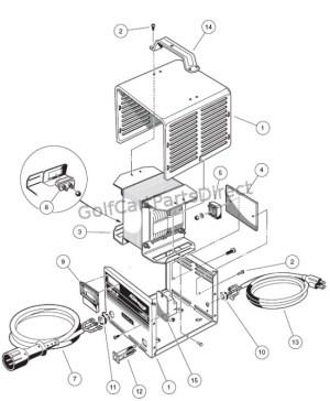 Charger  48V Compact  GolfCartPartsDirect