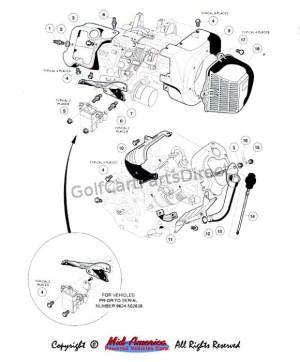 FE 290 Engine I  GolfCartPartsDirect
