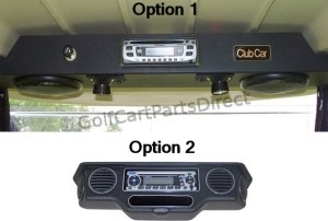 Stereo Console  GolfCartPartsDirect