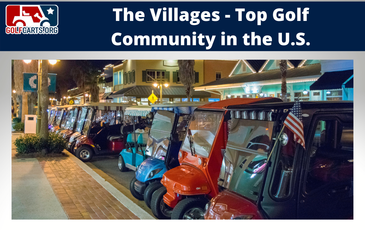 Villages Golf Cart Community