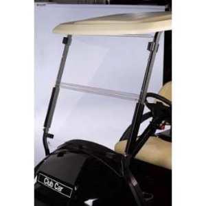 club car folding 1:4 inch windshield