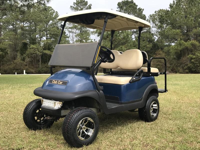 lifted golf cart new bern nc
