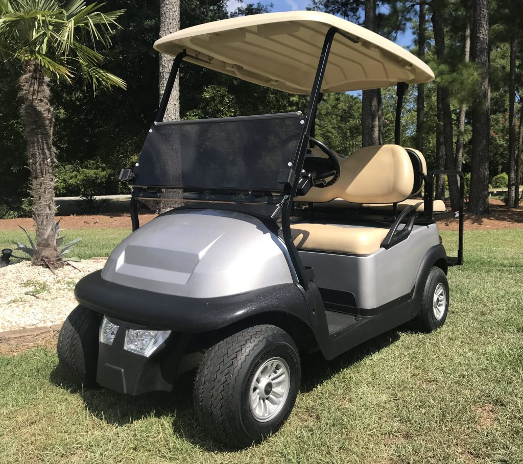 2017 Silver Club Car Precedent Golf Cart