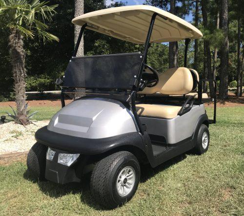2017 Silver Club Car Precedent Golf Cart
