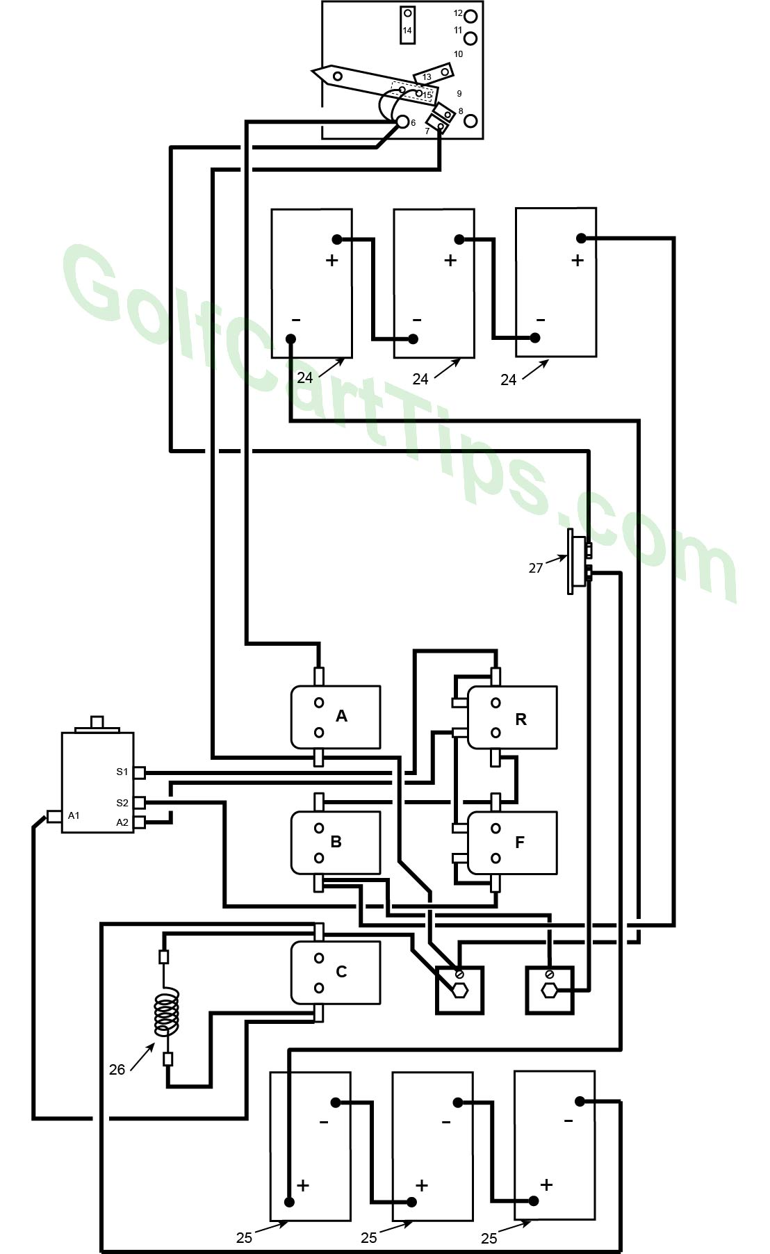Westinghouse Golf Cart Wiring Diagram