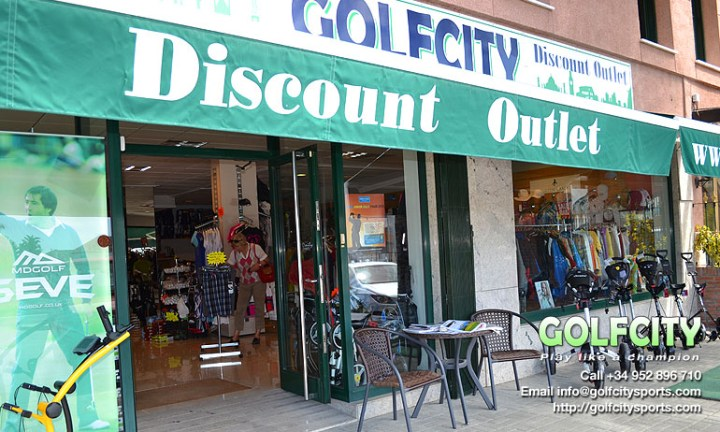 Golf City Sports Discount Outlet Golf Shop, Costa del Sol - Find us near Estepona