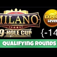 Golf Clash - Milano 9 Hole Cup - EXPERT - Qualifying Round - Complete Walkthrough ~ (-14)