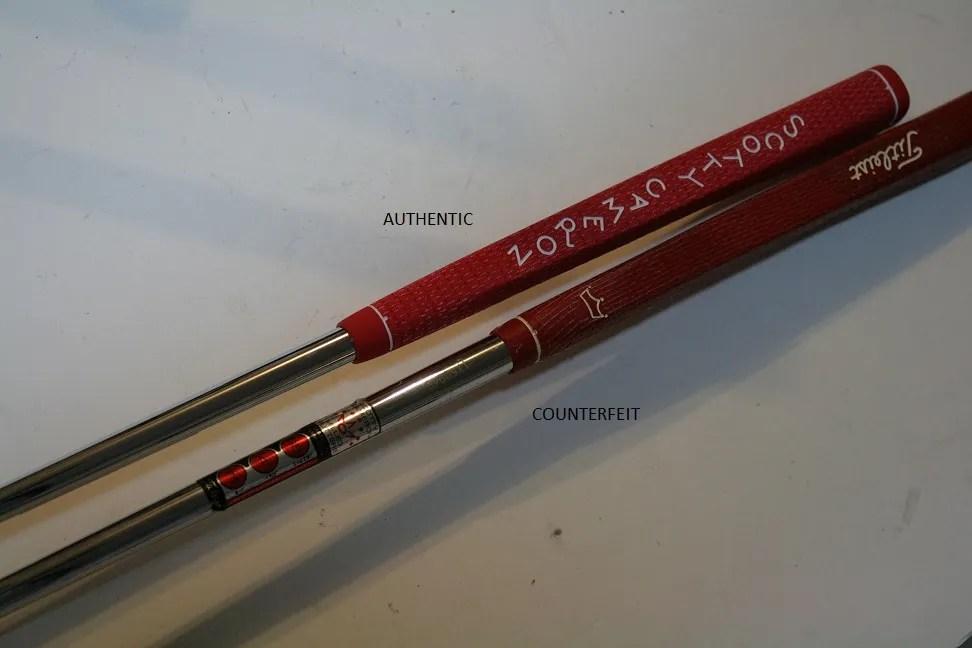 Counterfeit Scotty Cameron Studio Select Newport 2 Putter