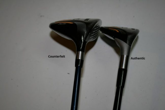 Counterfeit Mizuno MX-700 Fairway