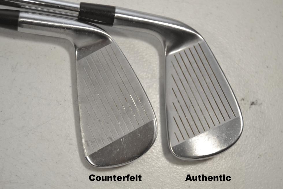 Counterfeit Titleist 716 AP2 Iron Set